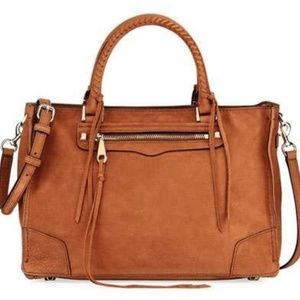 Rebecca Minkoff Regan Stachel in Brown Suede